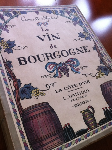 Camille Rodier 'Le Vin de Bourgogne' (1920)