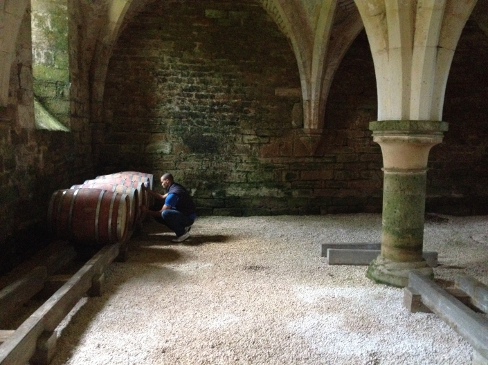 Moving in: Cellier at the Abbaye de la Bussiere